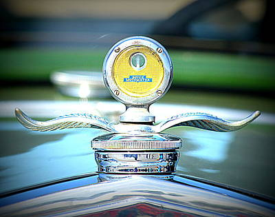 Photograph - Yellow Hood Ornament by Kimberly-Ann Talbert