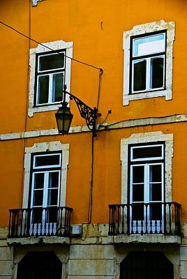 Photograph - Yellow Italian Building by Eric Tressler