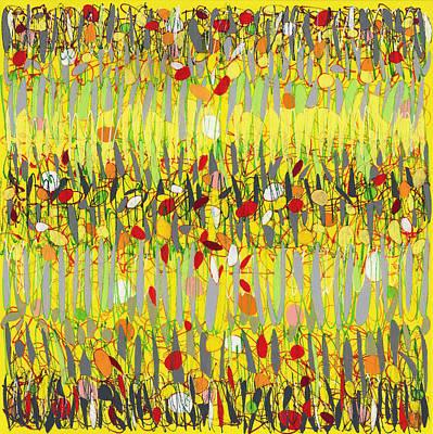 Yellow Jazz Art Print
