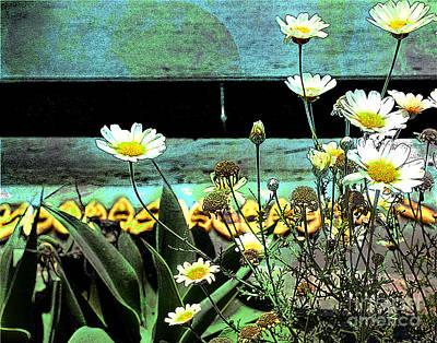 Yellow Kayaks Art Print
