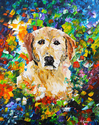 yellow Lab Original by Kevin Brown