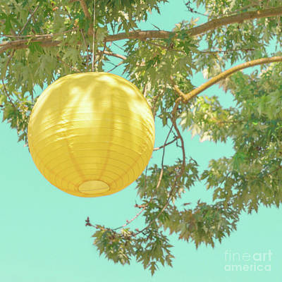 Photograph - Yellow Lantern by Cindy Garber Iverson