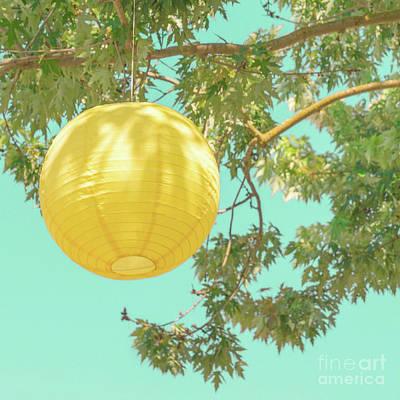 Photograph - Yellow Lantern by Cindy Garber Iverson