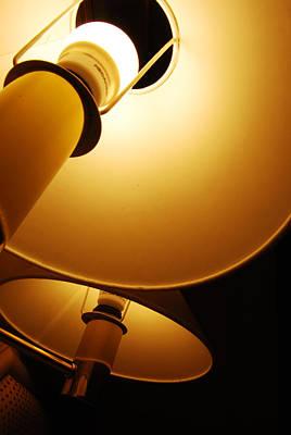 Yellow Light Of Lamp Original by Taweesak Boonwirut