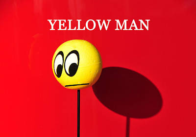 Photograph - Yellow Man by David Lee Thompson