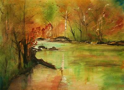 Julie Lueders Artwork Painting - Yellow Medicine River by Julie Lueders