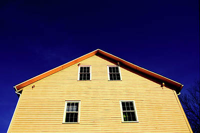 Photograph - Yellow Mill by Christine Montague
