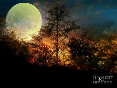 Photograph - Yellow Moon by Maria Urso