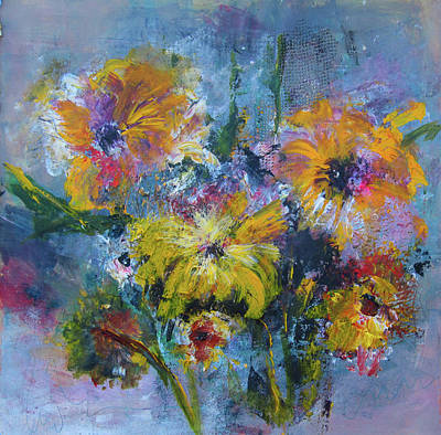 Painting - Yellow Morning by Marilyn Woods