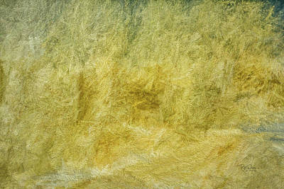 Photograph - Yellow Ocean Strokes by Bill Posner