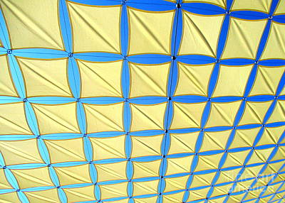 Photograph - Yellow On Blue Sky 1 by Randall Weidner