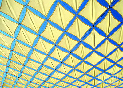 Yellow On Blue Photograph - Yellow On Blue Sky 3 by Randall Weidner