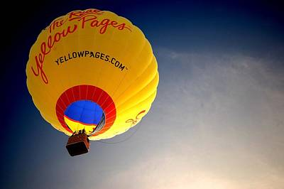 Painting - Yellow Pages Balloon by Michael Thomas