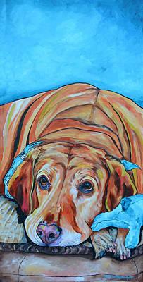 Painting - Yellow by Patti Schermerhorn