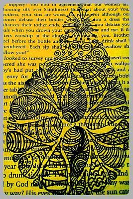 Yellow Pear Art Print