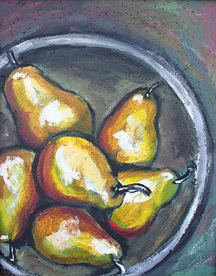 Painting - Yellow Pears by Sarah Crumpler