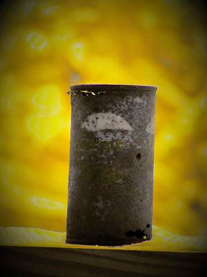 Pepsi Can Photograph - Yellow Pepsi Can by Zen WildKitty