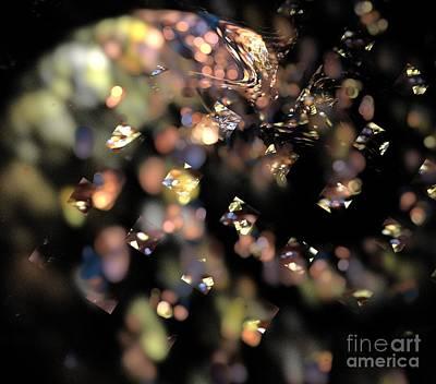 Digital Art - Yellow Pink Swirl by Kim Sy Ok