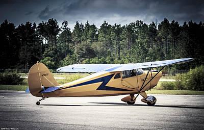 Photograph - Yellow  Plane by Debra Forand