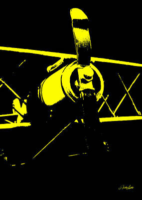 Photograph - Yellow Plane by Nathan Little