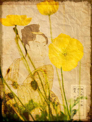 Yellow Poppies Art Print by Wesley Phillips