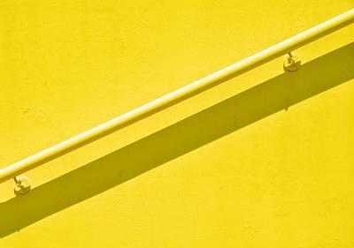 Yellow Rail Art Print