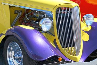 Photograph - Yellow Roadster by Kim Bemis