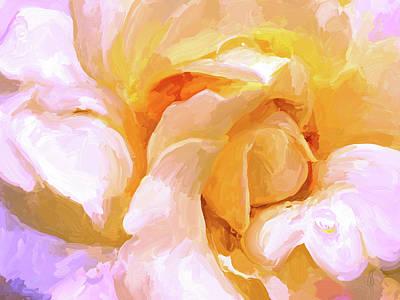 Painting - Yellow Rose by Jai Johnson
