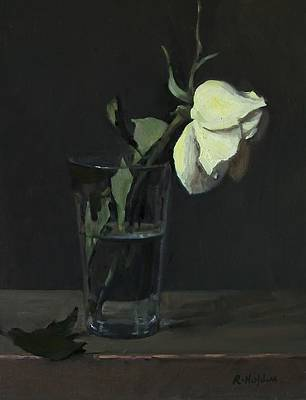 Painting - Yellow Rose No. 3 by Robert Holden