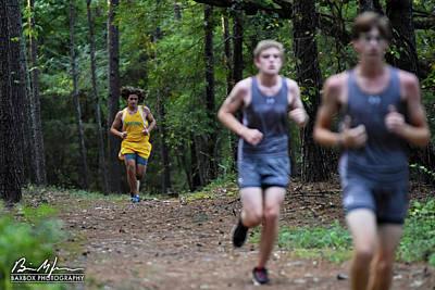 Photograph - Yellow Runner by Brian Jones