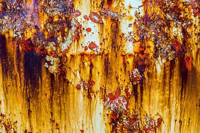 Yellow Rust Art Print