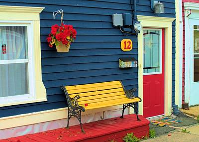 Photograph - Yellow Seat by Douglas Pike