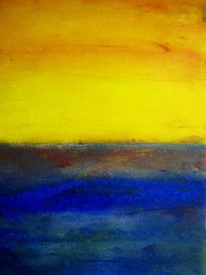 Painting - Yellow Sky 1 by Michael Baroff