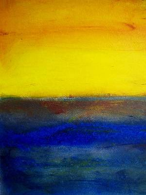 Painting - Yellow Sky 3 by Michael Baroff