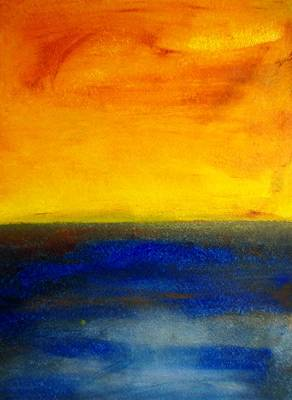Painting - Yellow Sky 4 by Michael Baroff