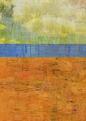 Digital Art - Yellow Sky by Michelle Calkins