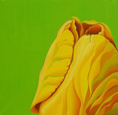 Painting - Yellow Somebuddy by Amy Ferrari