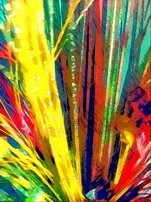 Digital Art - Yellow Splash  by Gayle Price Thomas