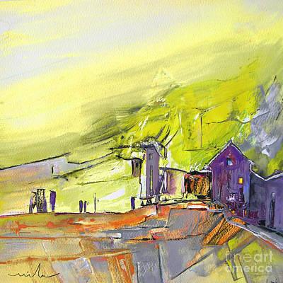 Painting - Yellow Spleen by Miki De Goodaboom