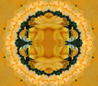Digital Art - Yellow Spring by Nancy Pauling