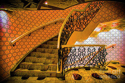 Photograph - Yellow Stairs by Rick Bragan