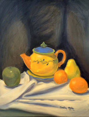 Painting - Yellow Still Life by Dustin Miller