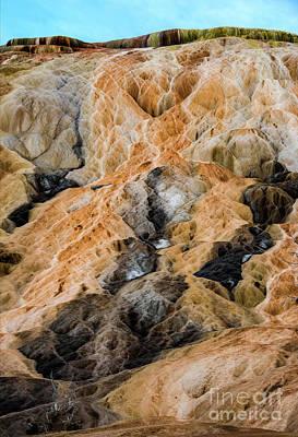 Photograph - Yellow Stone by Mae Wertz