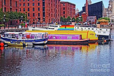 Photograph - Yellow Submarine - Liverpool by Doc Braham