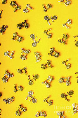 Scooter Photograph - Yellow Summer Transport by Jorgo Photography - Wall Art Gallery