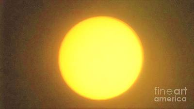 Photograph - Yellow Sun by John Williams
