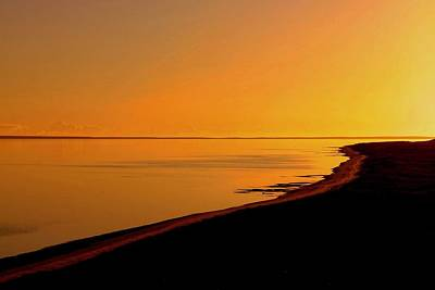 Photograph - Yellow Sunset by Tony Brown
