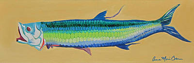 Yellow Tarpon Art Print