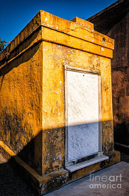 Photograph - Yellow Tomb-st Louis 1 Nola by Kathleen K Parker