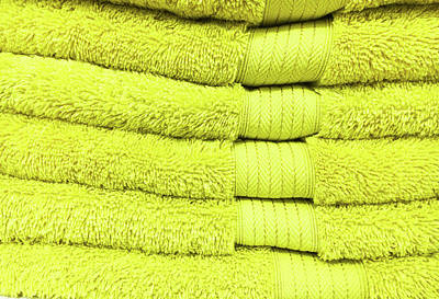 Yellow Towels Art Print